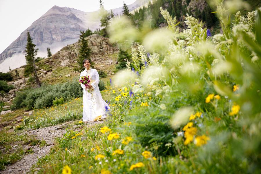 Vietnamese Styled Wedding in the Mountains of Colorado