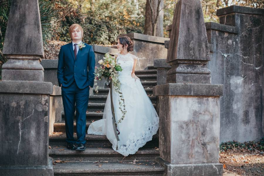 Whimsical Swan House Wedding