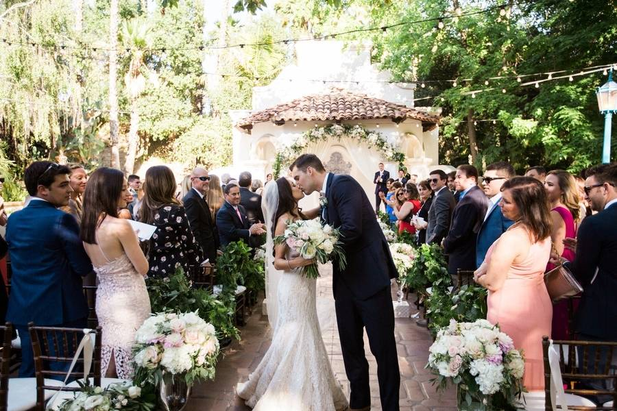 Enchanted Outdoor Wedding at the Spanish Inspired Rancho Las Lomas