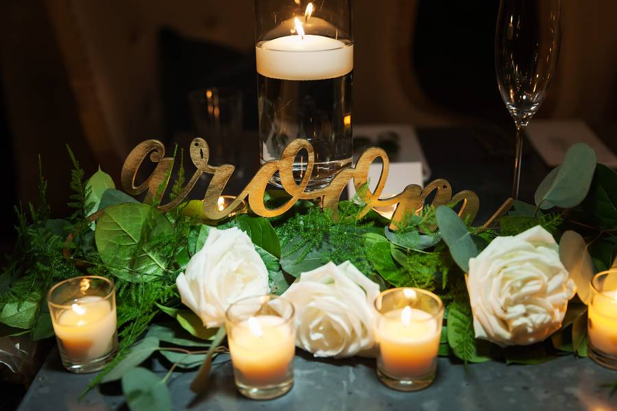 Romantic Candlelit Wedding Surprise