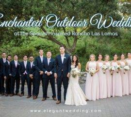 Enchanted Outdoor Wedding