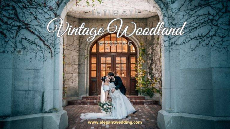 Intimate Vintage Woodland Wedding