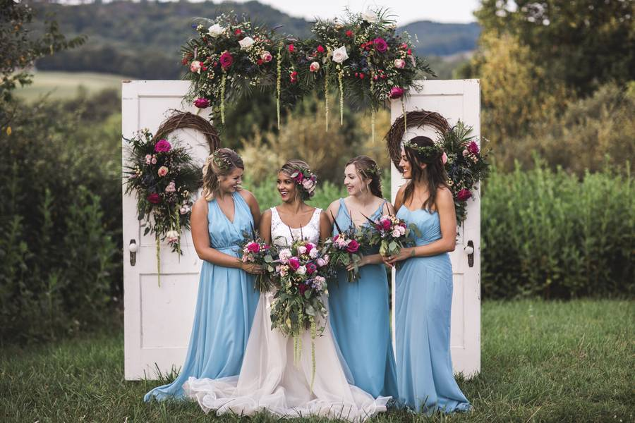 Whimsical Wedding at the White House Farm