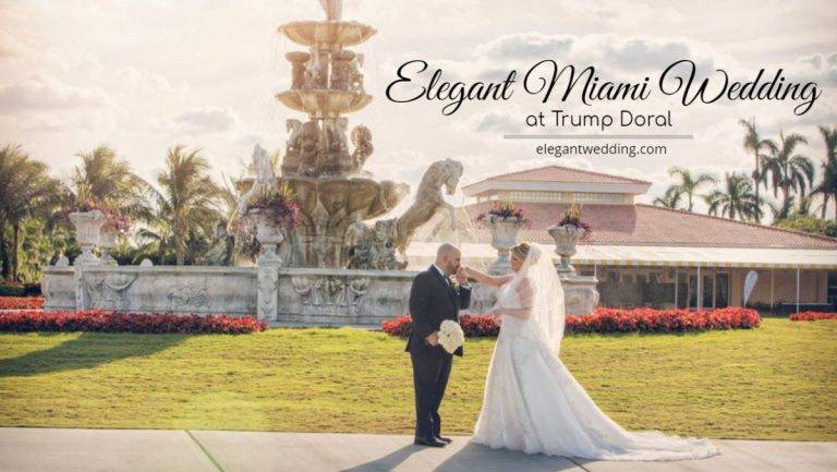Elegant Miami Wedding at Trump Doral