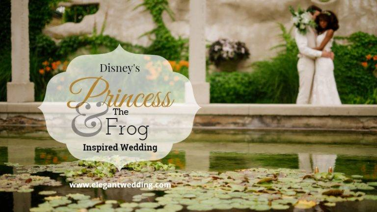 Disney's Princess & The Frog Inspired Wedding