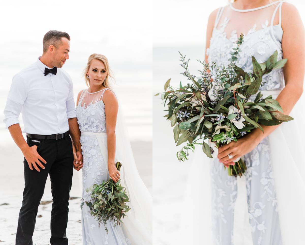 Organic Coastal Wedding