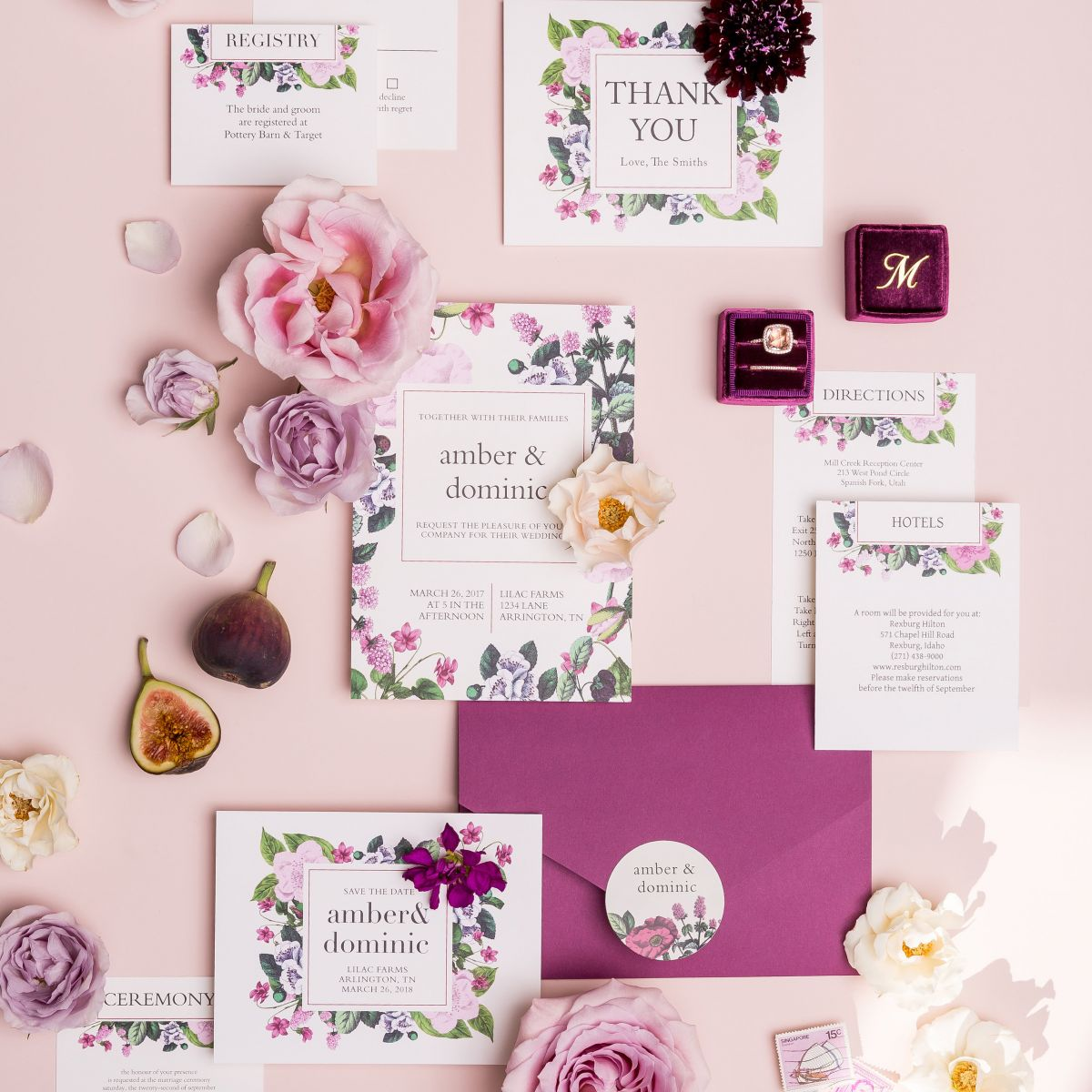 Trendy Spring Wedding Color Pop
