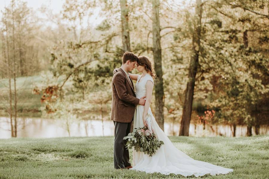 Vintage Wedding in Georgia