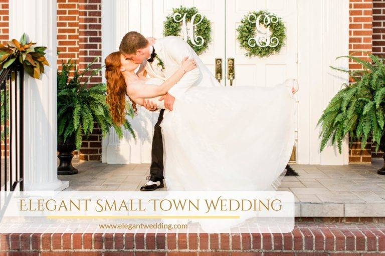 Elegant Small Town Wedding
