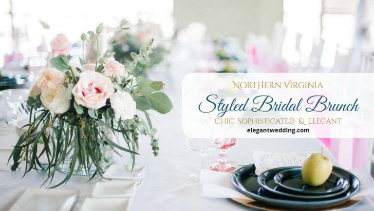 Northern Virginia Styled Bridal Brunch