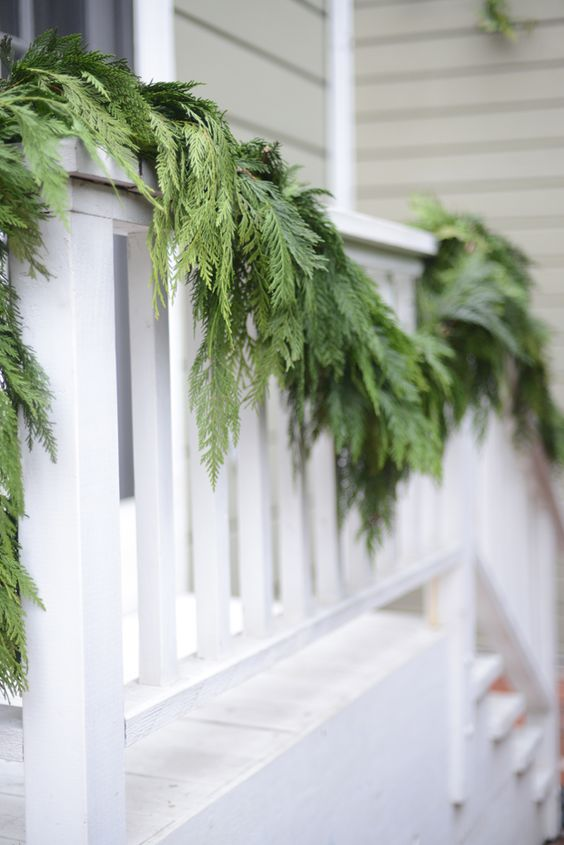 Getting Ready for the Holidays with Garlands