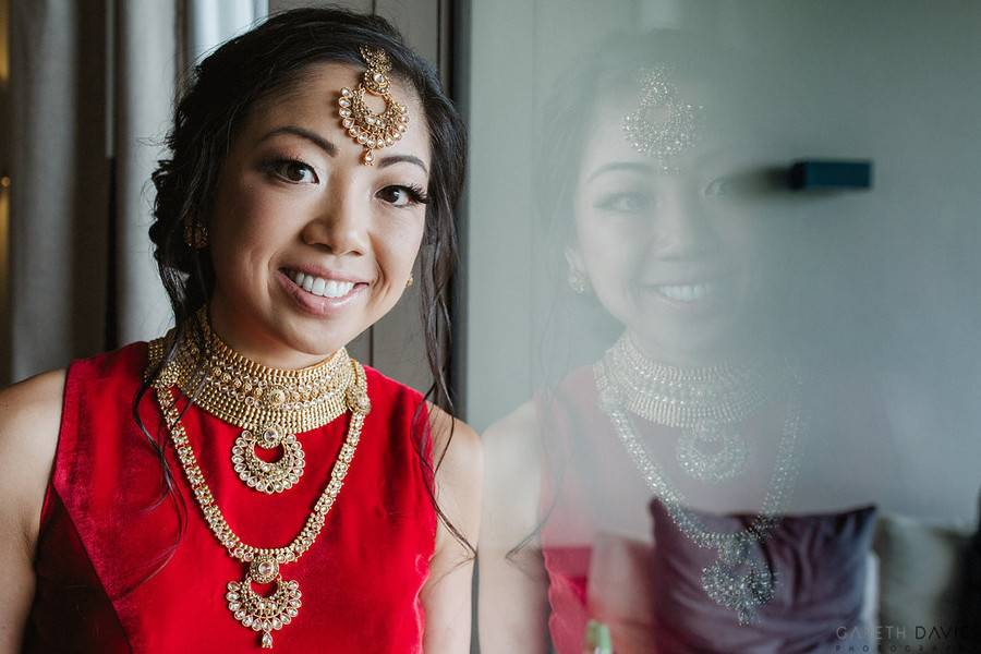 East meets West Indian fusion Wedding