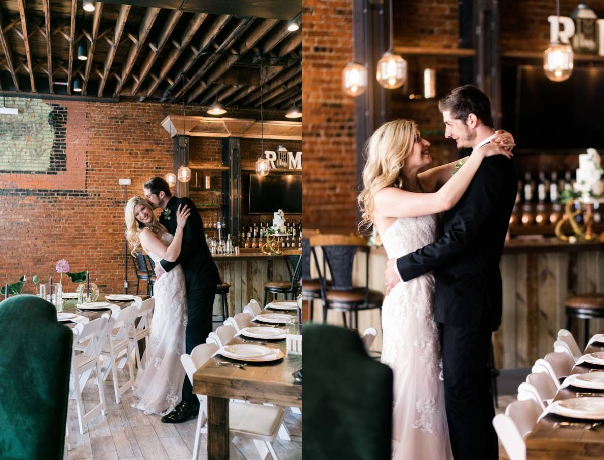 Modern Urban Styled Wedding