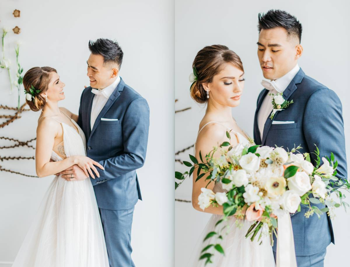 Earth and Aureate Styled Shoot