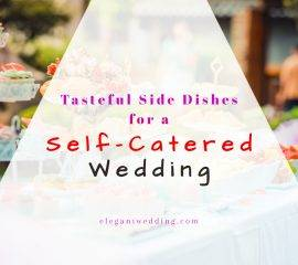 Self Catered Wedding