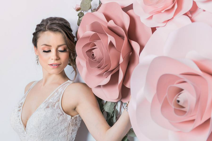 Mad for Mauve Bridal Session