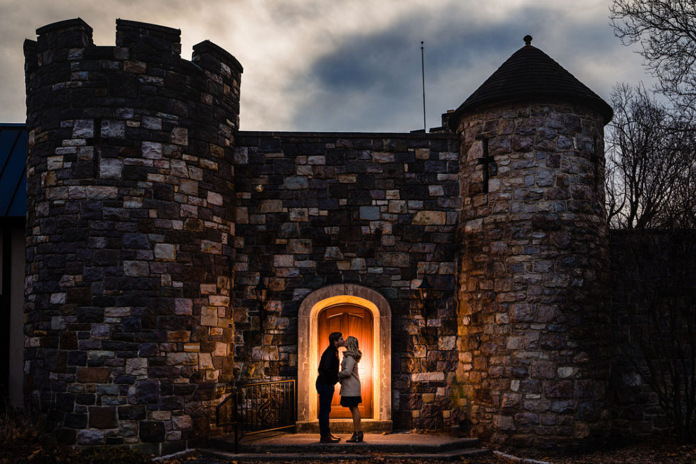 Tiffany and Nick: Bonfire Night Engagement Session