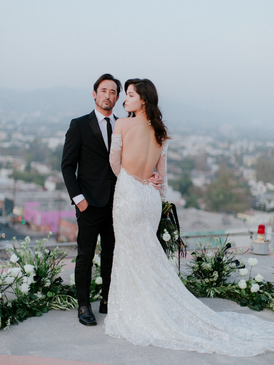 Love From Above: A Helipad Elopement