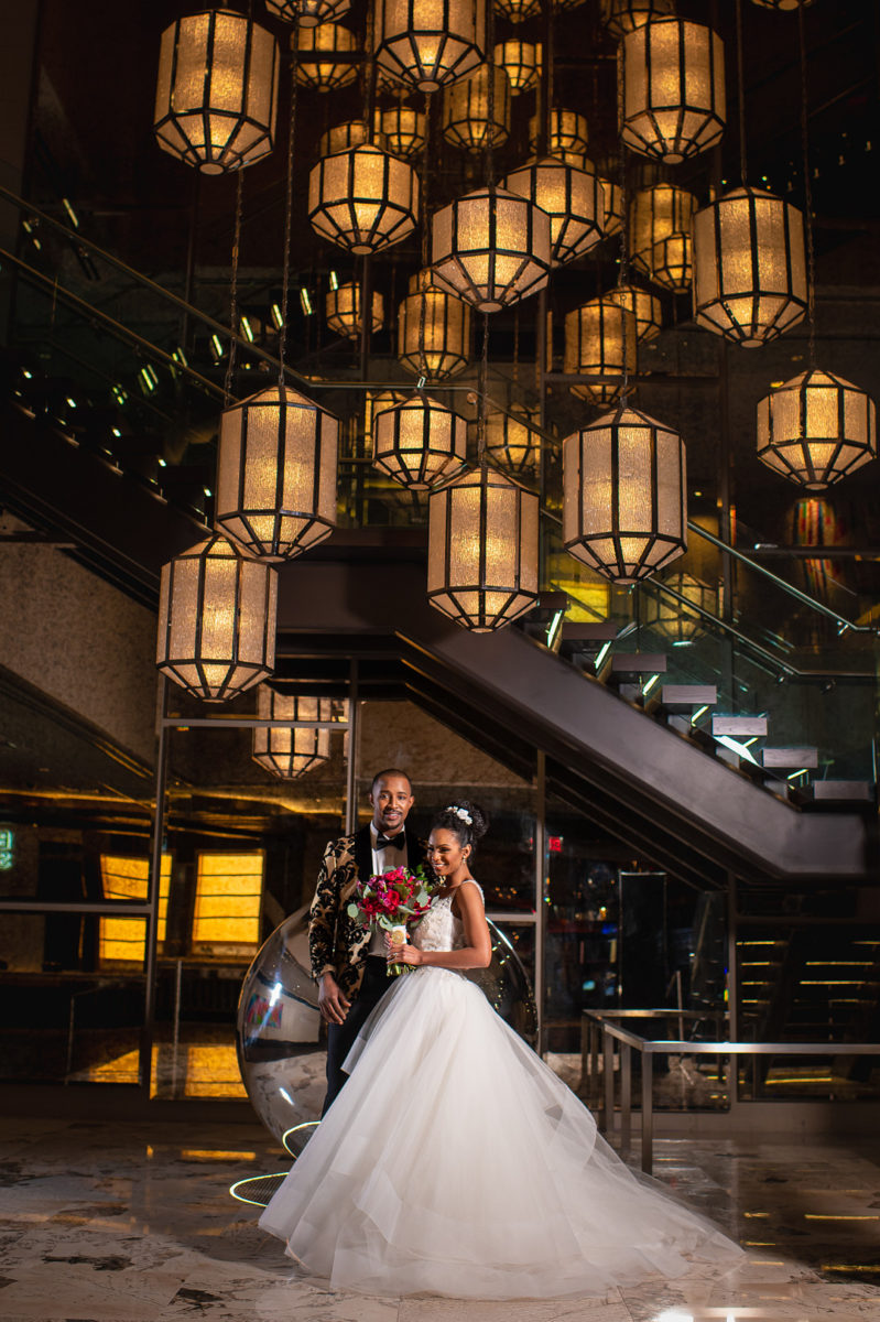 Over The Top Luxury Styled Shoot